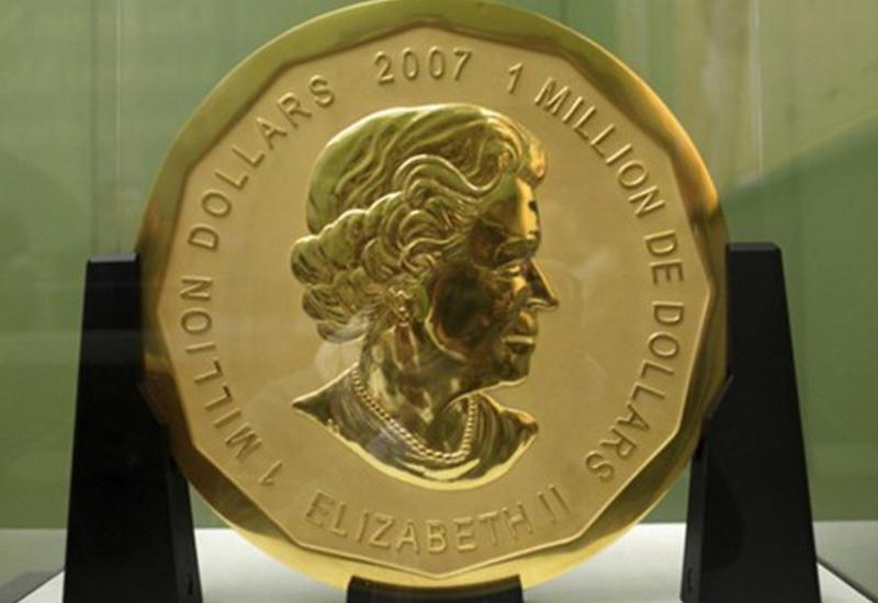 В Германии украли золотую монету весом 100 кг