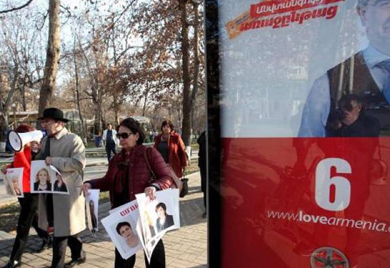 Скандал в Армении - партию Саргсяна требуют снять с выборной гонки