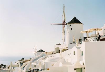 Путешествие в греческий Санторини