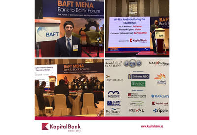 Kapital Bank принял участие в открытии Международного финансового совета