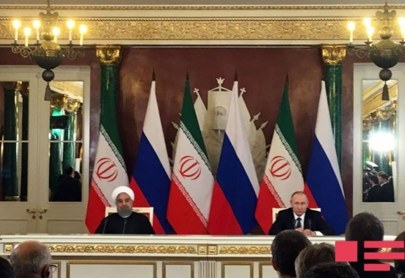 Роухани на встрече с Путиным: Сотрудничество с Азербайджаном служит процветанию наших народов