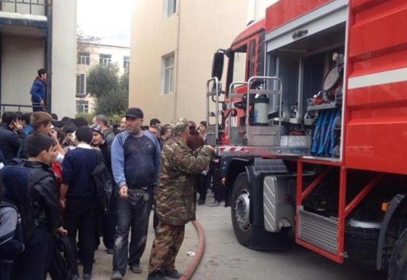 Подробности пожара в здании преподавателей БГУ в Баку