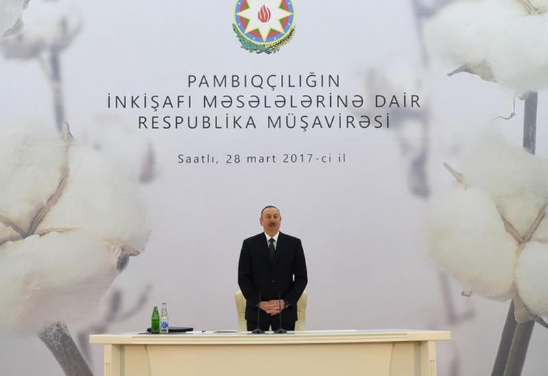 Президент Ильхам Алиев: Мы сегодня показываем пример того, как надо управлять страной