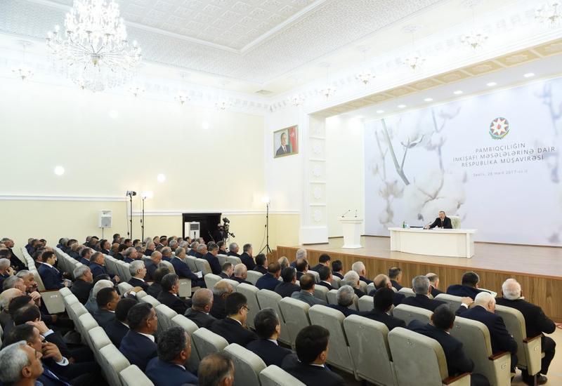 Азербайджан возрождает хлопководство: Новые цели постнефтяной стратегии Президента Ильхама Алиева