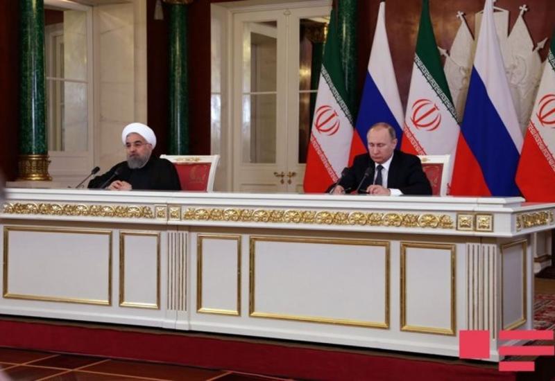 """Путин и Роухани обсудили статус Каспия <span class=""""color_red"""">- ФОТО</span>"""