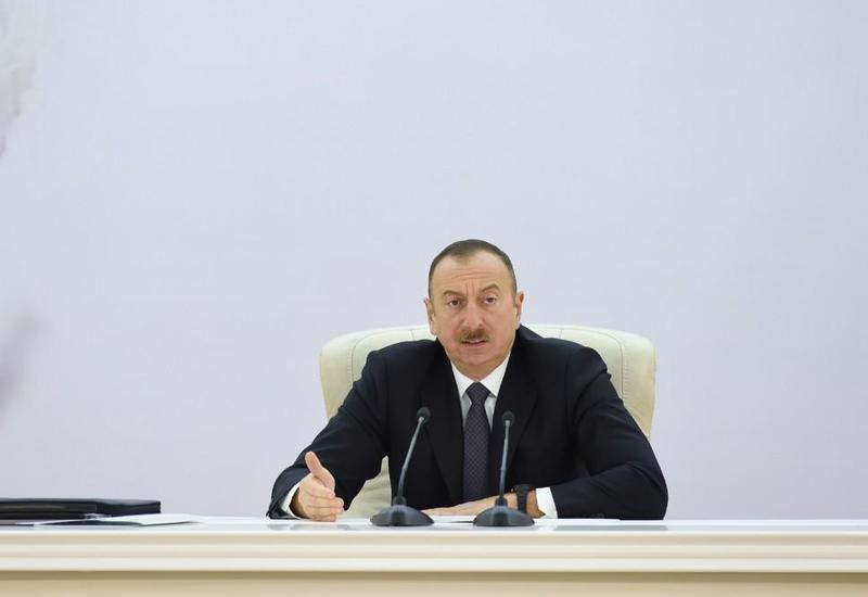 Президент Ильхам Алиев: Развитие хлопководства придаст большой импульс и развитию легкой промышленности в Азербайджане