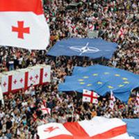 """Грузия празднует введение безвизового режима с ЕС <span class=""""color_red"""">- ВИДЕО</span>"""
