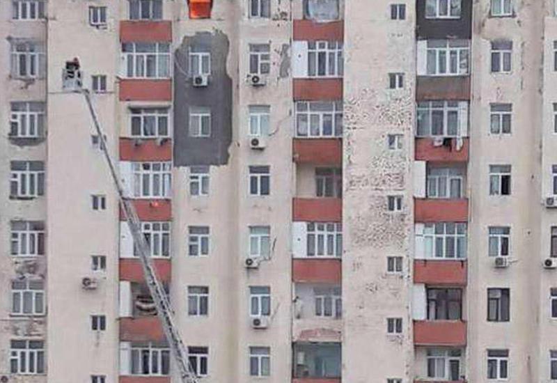 """BDU-dan açıqlama: """"Yanan binanın bizə aidiyyəti yoxdur"""""""