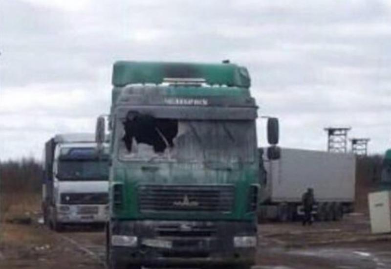В Дагестане бастующие дальнобойщики не пропускают азербайджанские грузовики