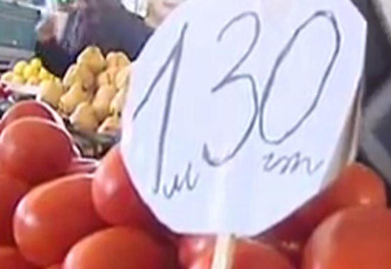 """Bazarlarda pomidor ucuzlaşdı <span class=""""color_red"""">- VİDEO</span>"""