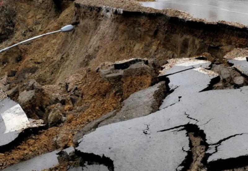 Названы бакинские районы с потенциальной опасностью оползня