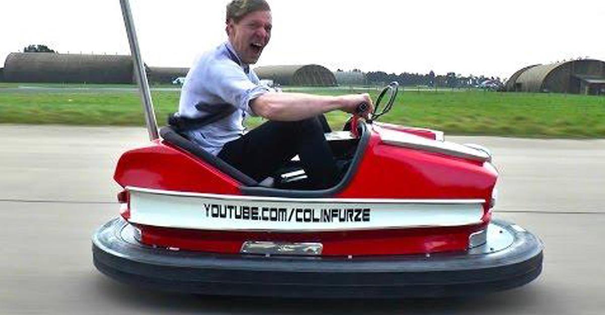 Стиг установил рекорд скорости нааттракционном автомобиле