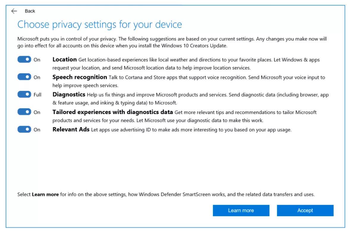 Рассылка обновления Creators Update для Windows 10 стартует 11 апреля