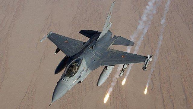 Бельгийские F-16 временно закончили полеты вСирии