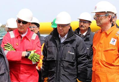 """Стало известно, сколько SOCAR будет добывать с первой скважины на крупном газовом месторождении <span class=""""color_red"""">- ФОТО</span>"""