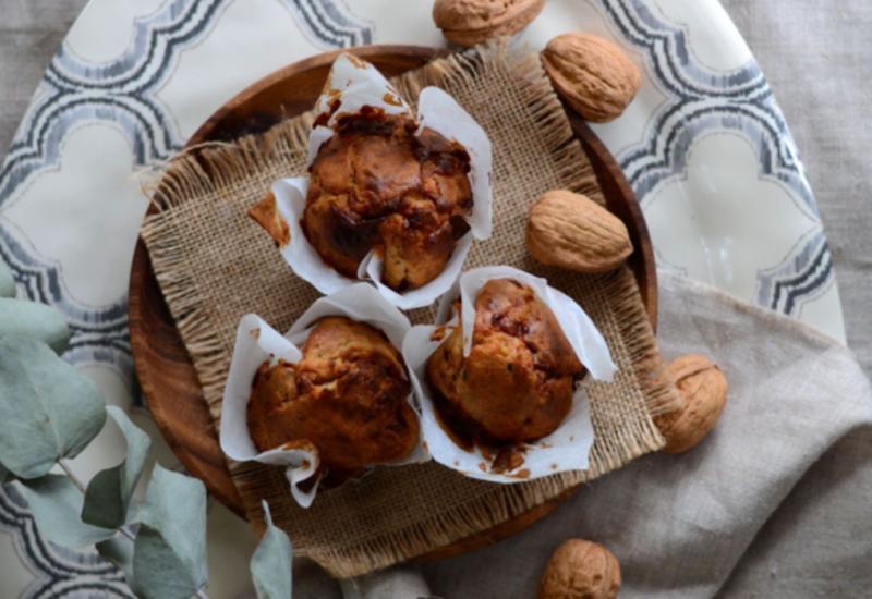 Маффины с козьим сыром и орехами - Пошаговый рецепт