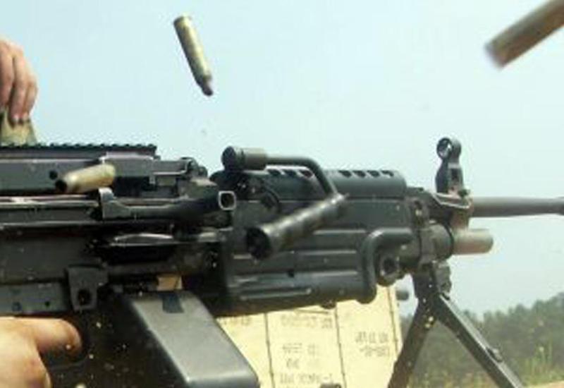 Армяне устроили массированный обстрел позиций ВС Азербайджана из крупнокалиберных пулеметов