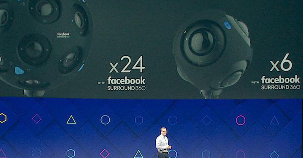 Социальная сеть Facebook представила новые 360-градусные камеры