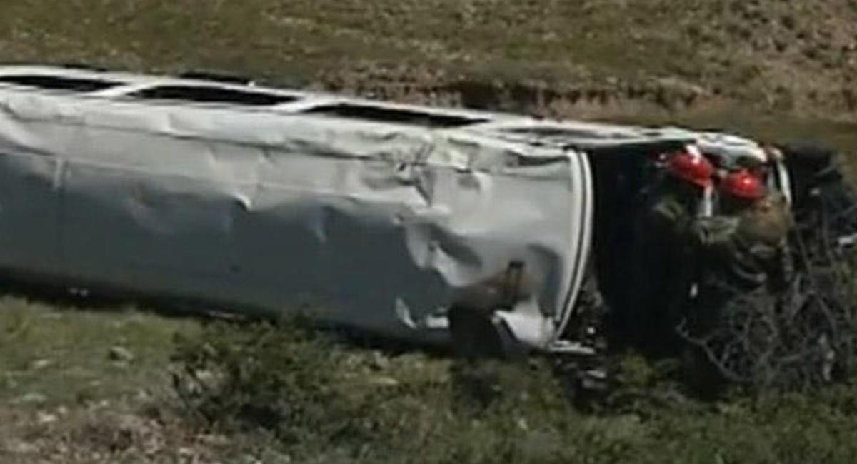 В Азербайджане перевернулся автобус, много пострадавших - ОБНОВЛЕНО - ВИДЕО - ФОТО