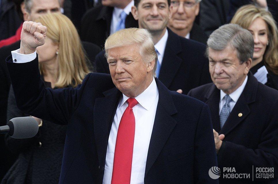 Стало известно, кто оплатил церемонию инаугурации Трампа
