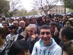 Центр Еревана охвачен протестами - ФОТО