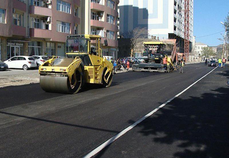 """Еще одна бакинская улица предстанет в новом облике <span class=""""color_red"""">- ФОТО</span>"""