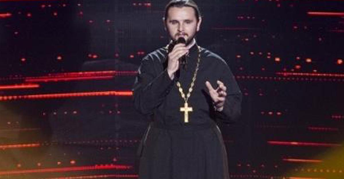 Священник победил вукраинской версии шоу «Голос»