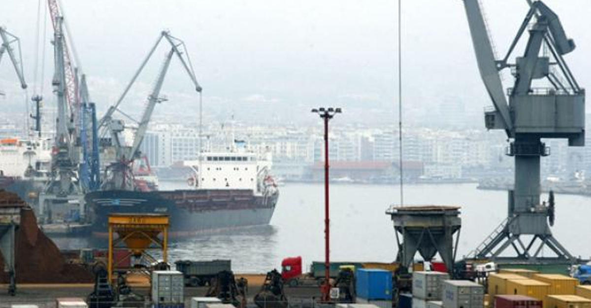 Греческий порт Салоники был продан за232млневро