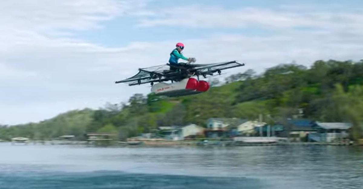 Kitty Hawk Flyer Ларри Пейджа— огромный мультикоптер, накотором можно летать