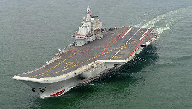 2-ой авианосец ВМС Китайская республика спущен наводу— Пополнение встрою