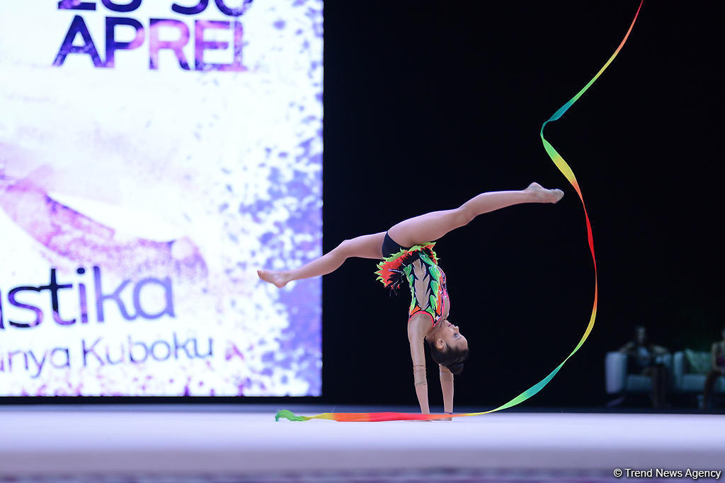 Фото с турнира по художественной гимнастике