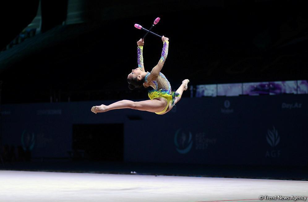 ВАзербайджанской столице стартовало соревнование Кубка мира похудожественной гимнастике