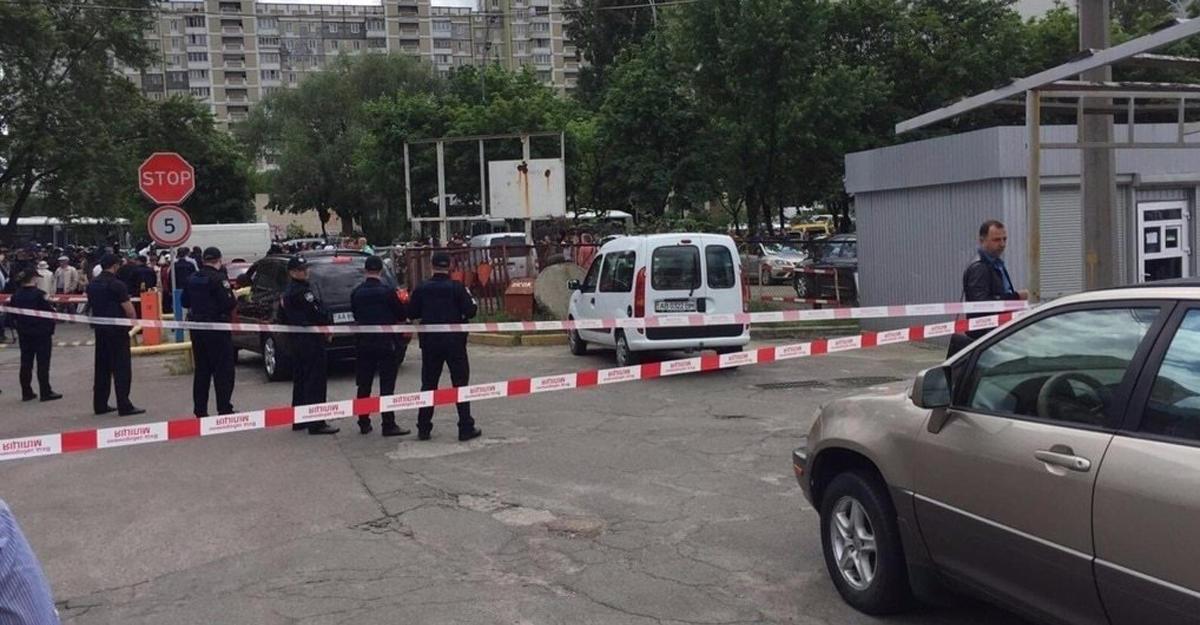 ВКиеве натерритории образовательного учреждения произошел взрыв