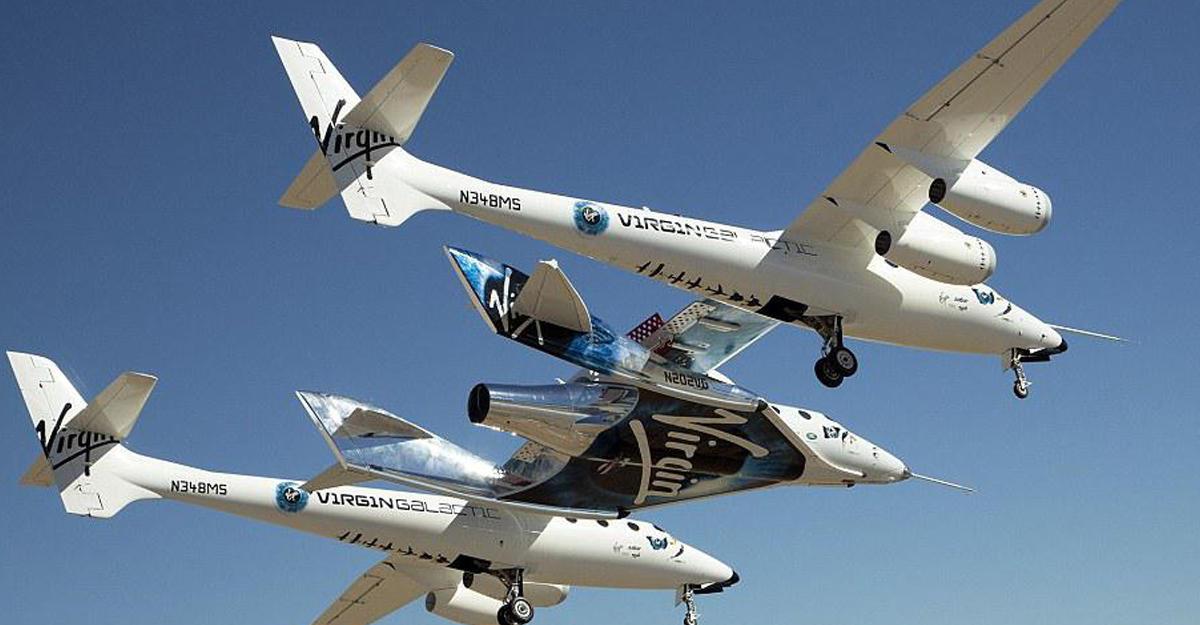 Virgin Galactic: Туристы смогут отправиться вкосмос кконцу 2018 года