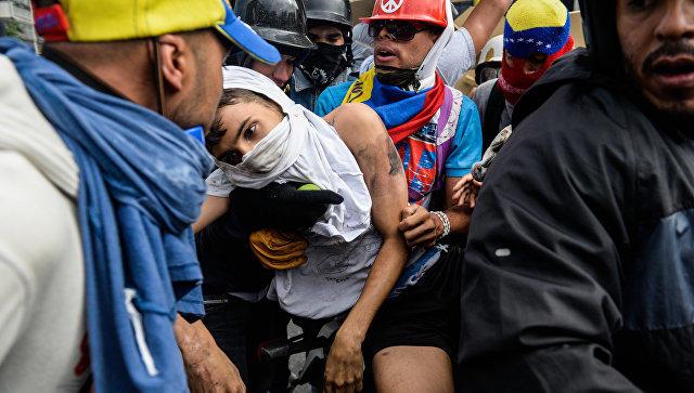 Убит президент студенческой организации— Протесты вВенесуэле