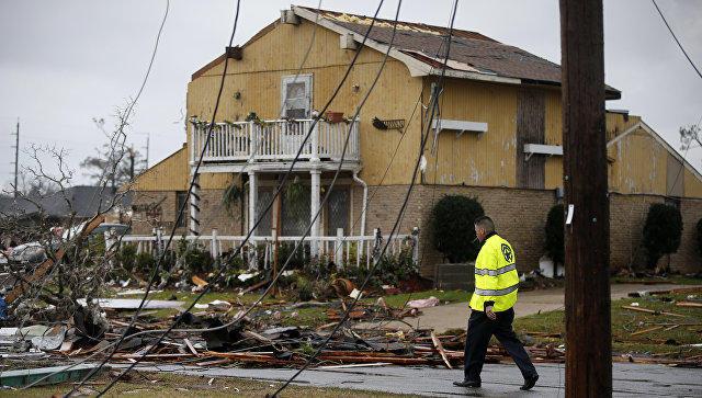 ВСША 25 человек пострадали иодин умер в итоге торнадо