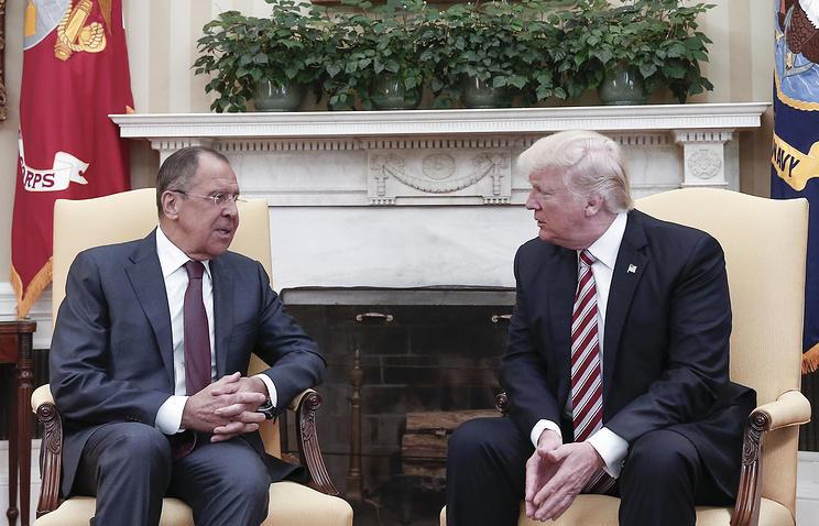 Трамп назвал удачной встречу сЛавровым вБелом доме