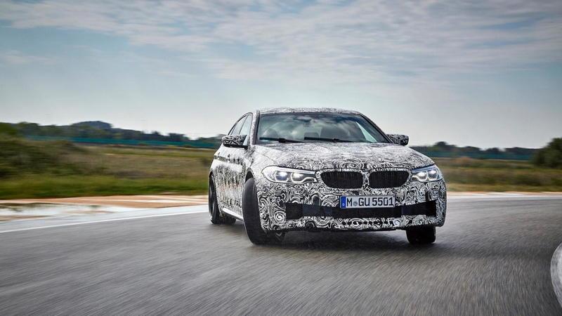 Новый BMW M5 позволит переключаться с заднего привода на полный - ФОТО
