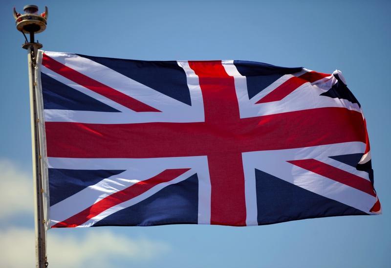 Посольство Великобритании в Баку приспустило государственный флаг