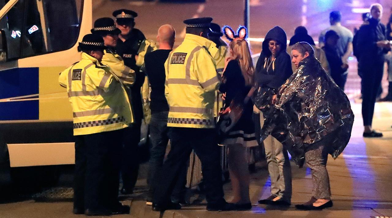 Ариана Гранде прокомментировала взрыв наконцерте вМанчестере