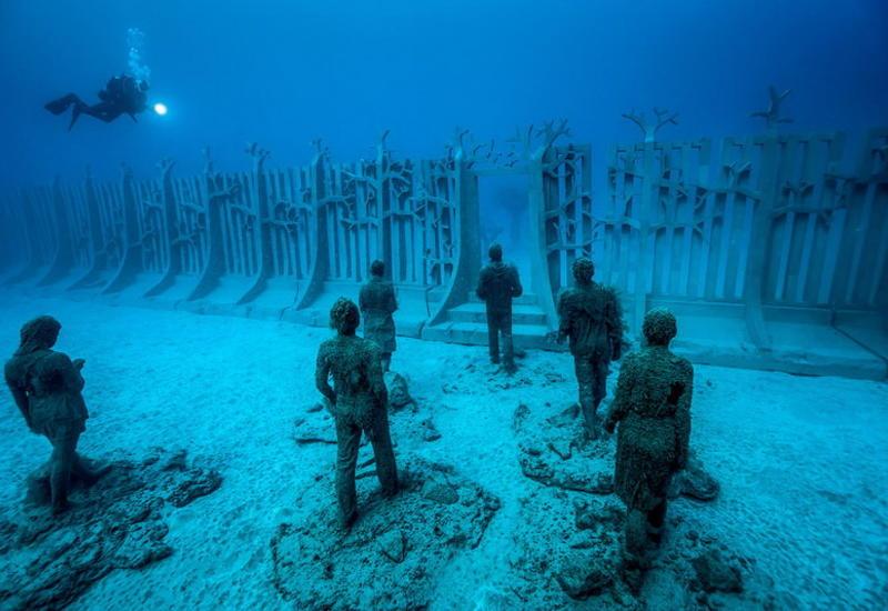 """Первый в Европе подводный музей Atlantico <span class=""""color_red"""">- ФОТО</span>"""