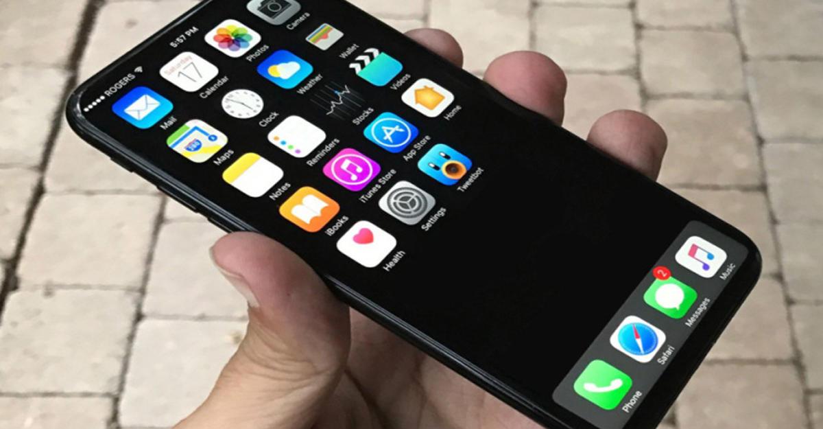 Дизайн iPhone 8 сняли навидео