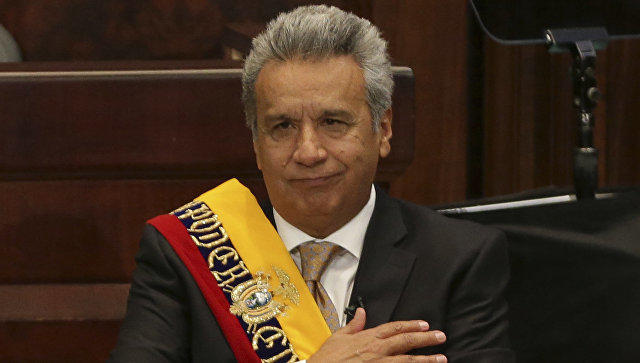Морено официально приступил кисполнению обязанностей президента Эквадора