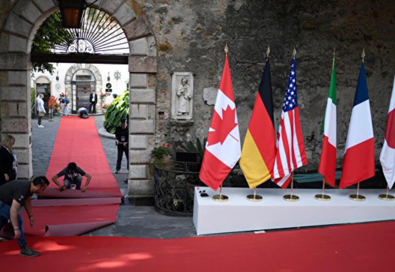 G7 будет бороться с финансированием терроризма