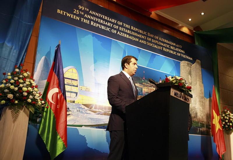 """Посол: Азербайджан и Вьетнам заинтересованы в активном развитии отношений <span class=""""color_red"""">- ФОТО</span>"""