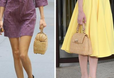 """Соломенная сумочка - 8 стильных образов с самым популярным аксессуаром лета 2017 <span class=""""color_red"""">- ФОТО</span>"""