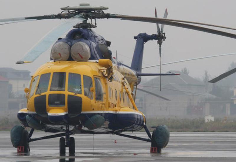 """Вертолет """"Ми-8"""" совершил вынужденную посадку на острове Чилов, пострадавших нет"""