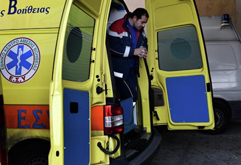 В Греции разбился истребитель