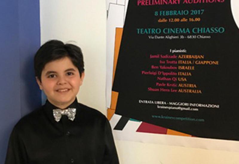 """9-летний азербайджанский музыкант выступил в Кремле <span class=""""color_red"""">- ФОТО - ВИДЕО</span>"""