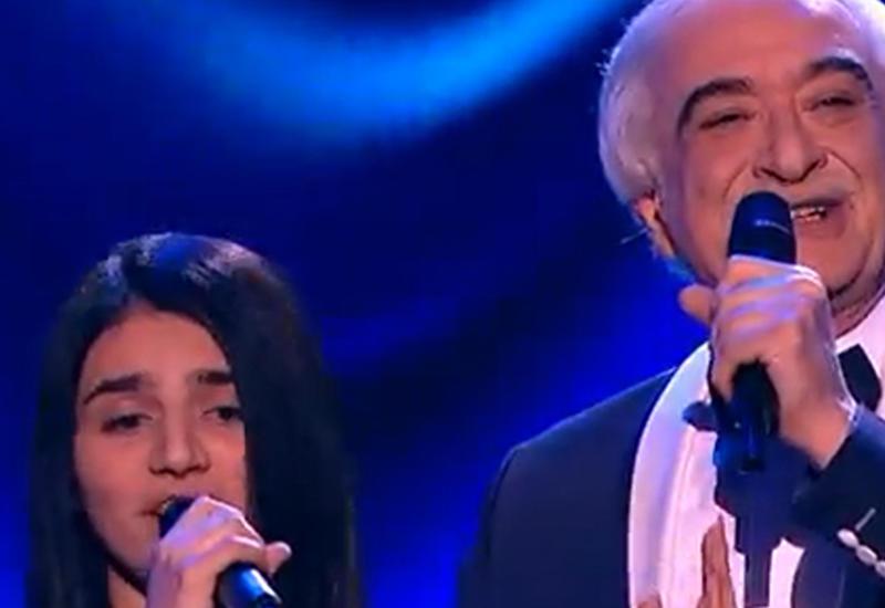"""Ты супер!"": Парвана Алджанова и Полад Бюльбюльоглу спели дуэтом <span class=""color_red"">- ВИДЕО</span>"